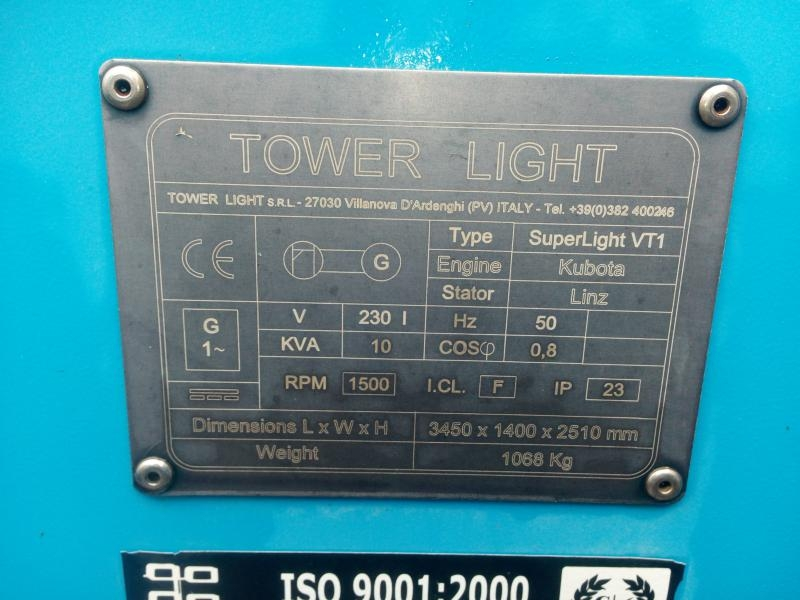 Superlight VT1 Eco tower light Kubota Linz