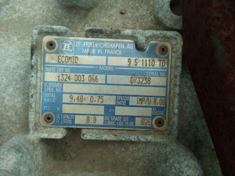 CAMBIO ZF ECOMID 9 S 1110 TO