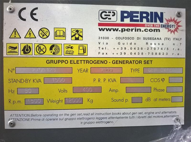 Generatore GEP gm1500 OPEN TYPE SERIE